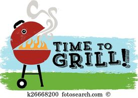 Charcoal grill Clipart Vector Graphics. 760 charcoal grill EPS.