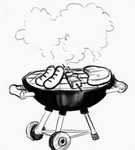 Free Charcoal Grill Clipart.