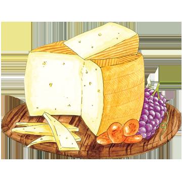 Cheese clipart cheese board, Cheese cheese board Transparent.