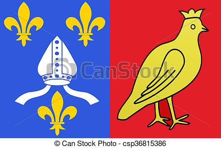 Illustration de drapeau, Charente.