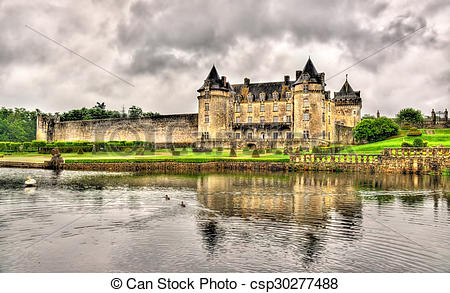 Pictures of Chateau de la Roche Courbon in Charente.