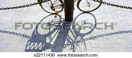 Stock Photography of Bicycle, Ile de Re, Charente.