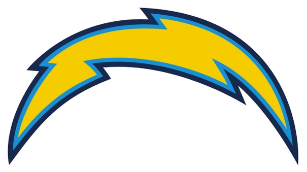 San Diego Chargers Logo Clip Art Free Download.
