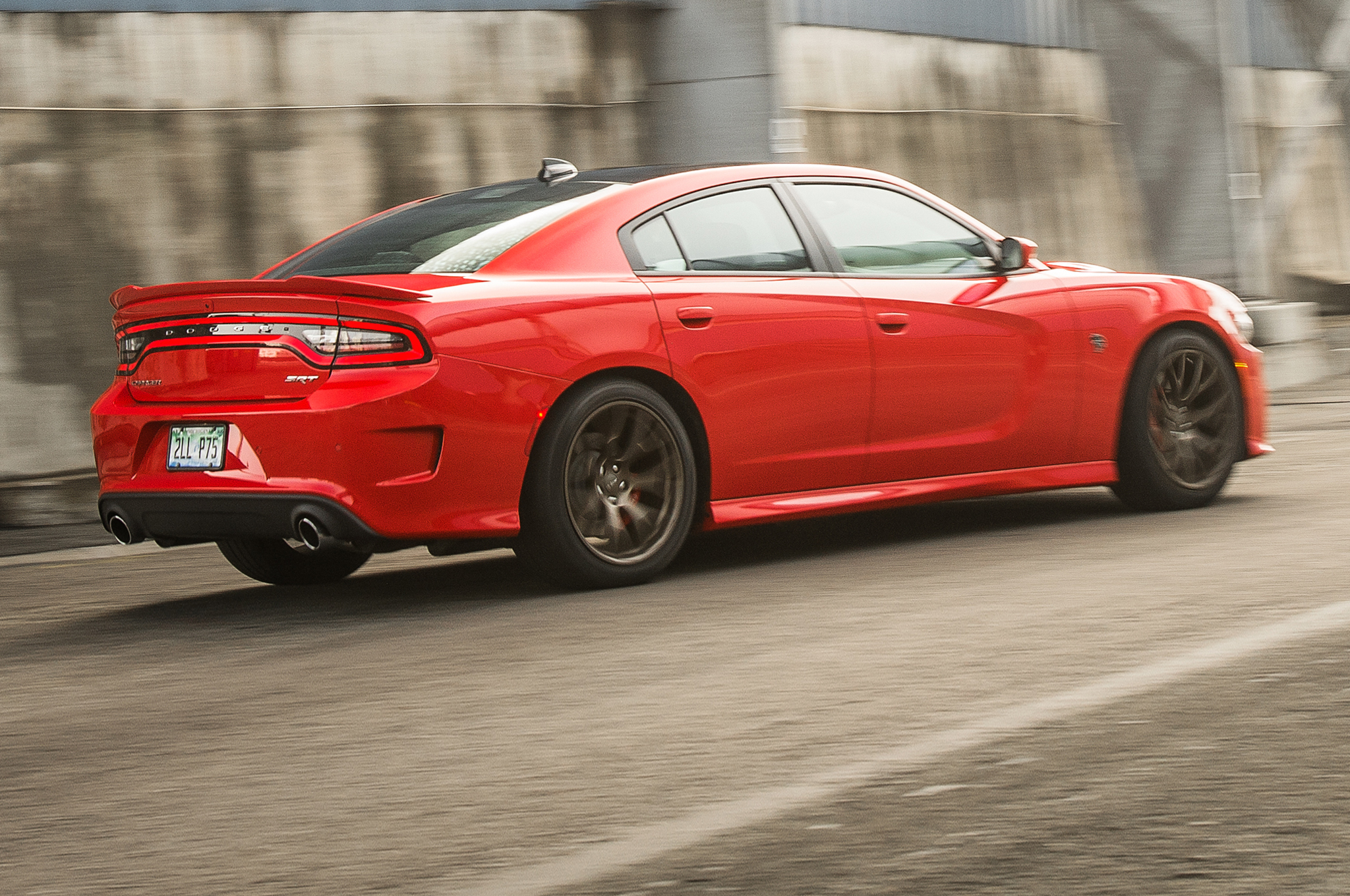 2016 Dodge Charger SRT Hellcat Review.