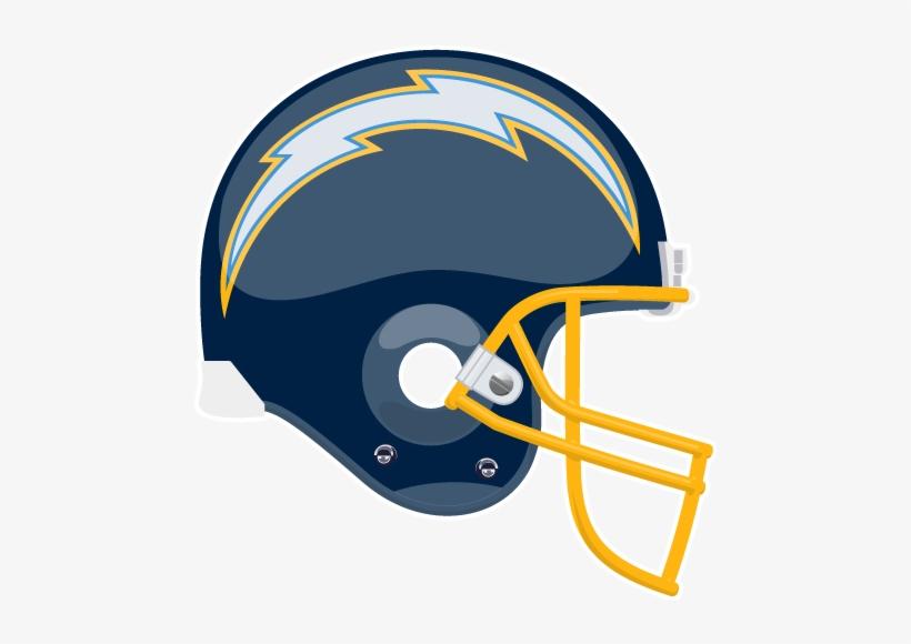San Diego Chargers Helmet Logo Clipart.