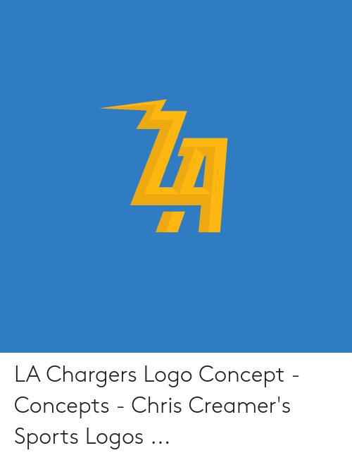LA Chargers Logo Concept.