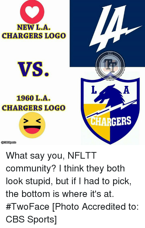 Chargers new logo Memes.