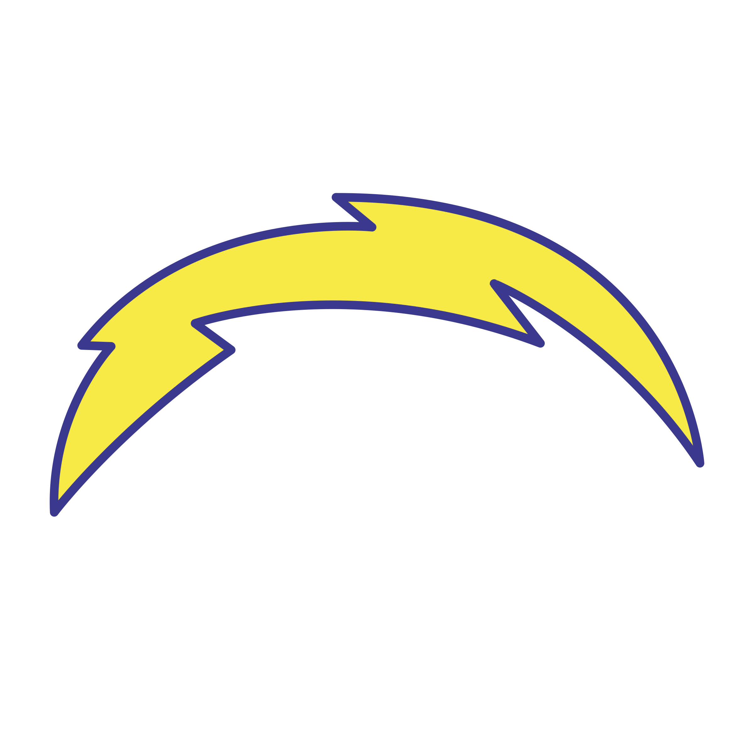 San Diego Chargers Logo PNG Transparent & SVG Vector.