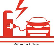 Electric vehicle charging station Vector Clipart EPS Images. 492.