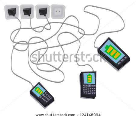 Cell Phone Charging Stock Photos, Royalty.