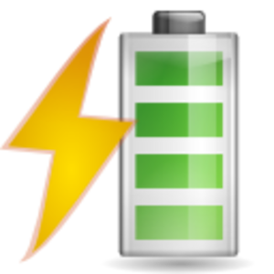 Battery Charging Clipart.