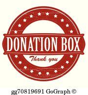 Donation Box Clip Art.