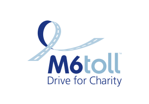 Drive For Charity along M6toll route.