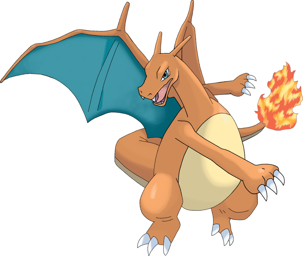 Charizard PNG Transparent Image.