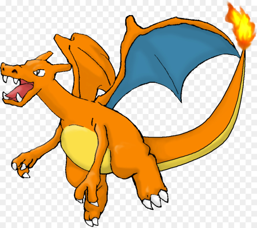 Charizard Cartoon png download.