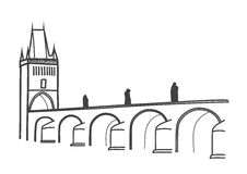 Charles Bridge Stock Illustrations.