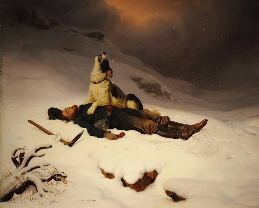 Title: The Dead Miner (1867) Artist: Charles C. Nahl (1818.