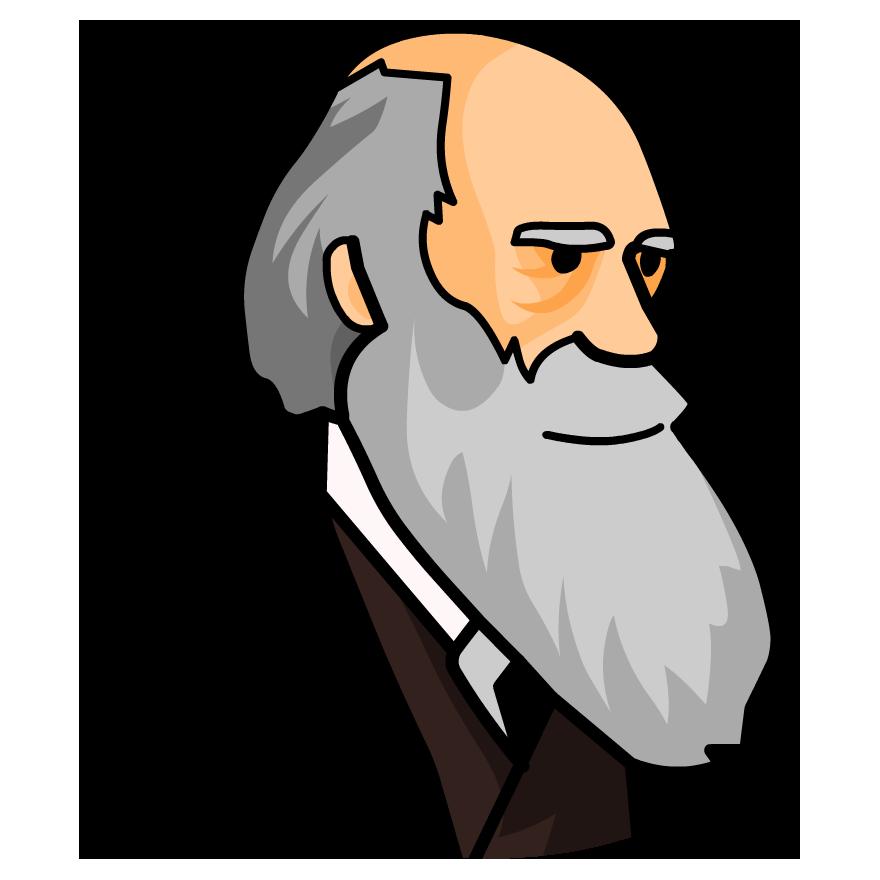 Charles darwin clipart.