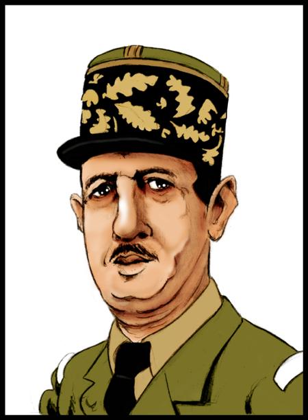 Charles de Gaulle by OlivierAJRamon on DeviantArt.
