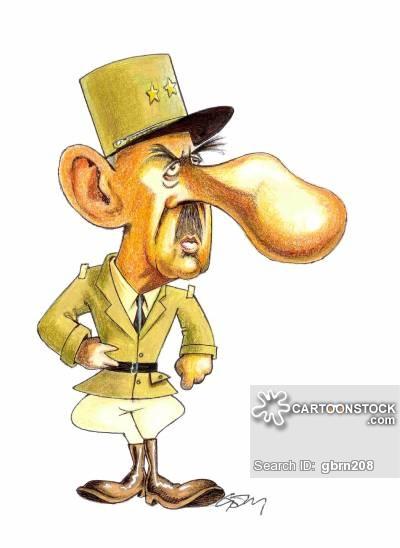 Charles De Gaulle Cartoons and Comics.