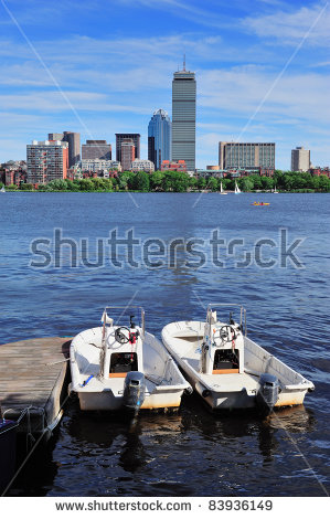 Charles River Boston Stock Photos, Royalty.