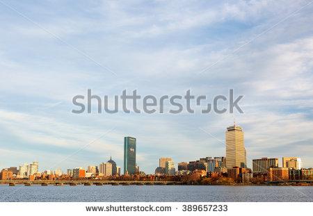 Boston Back Bay Stock Photos, Royalty.