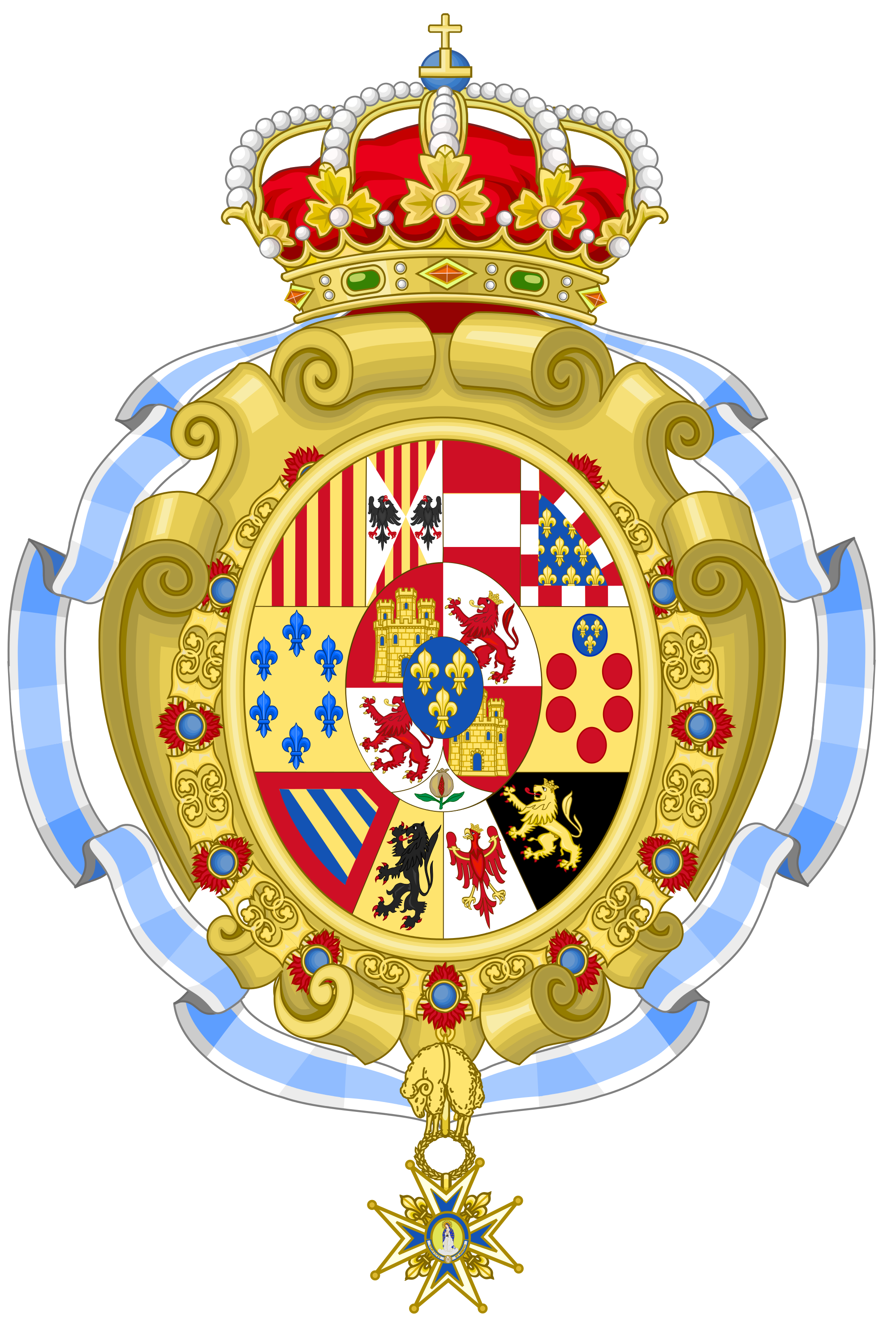 File:Royal Coat of Arms of Spain (c.1883.