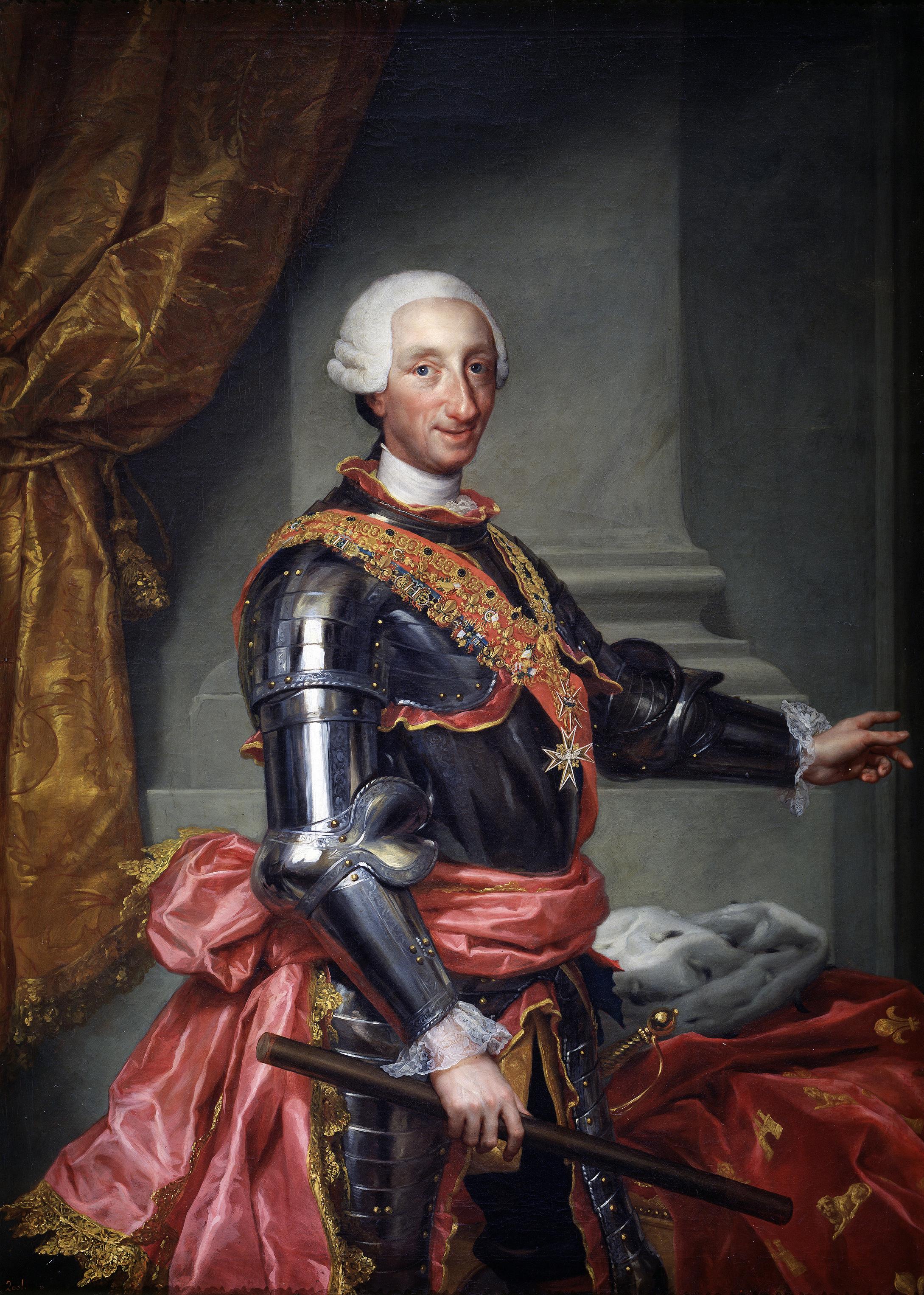 Charles III of Spain.