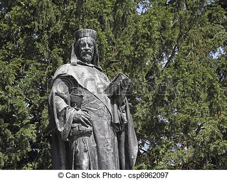 Picture of Statue of Emperor Charles IV in Tangermuende.