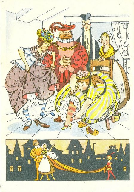 Cinderella' (Charles Perrault and the Grimm brothers) by Nika Gol`ts.