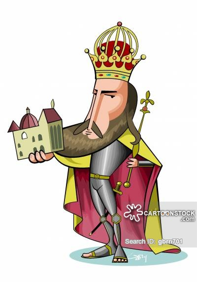 Charles I Cartoons and Comics.