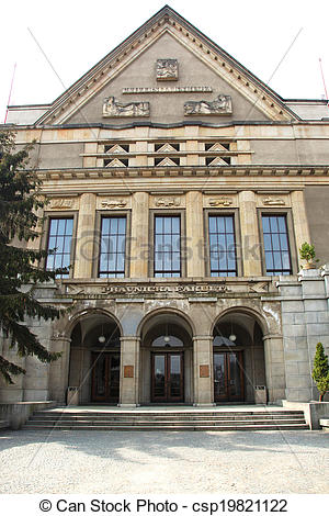 Stock Photo of Faculty of Law Charles University.