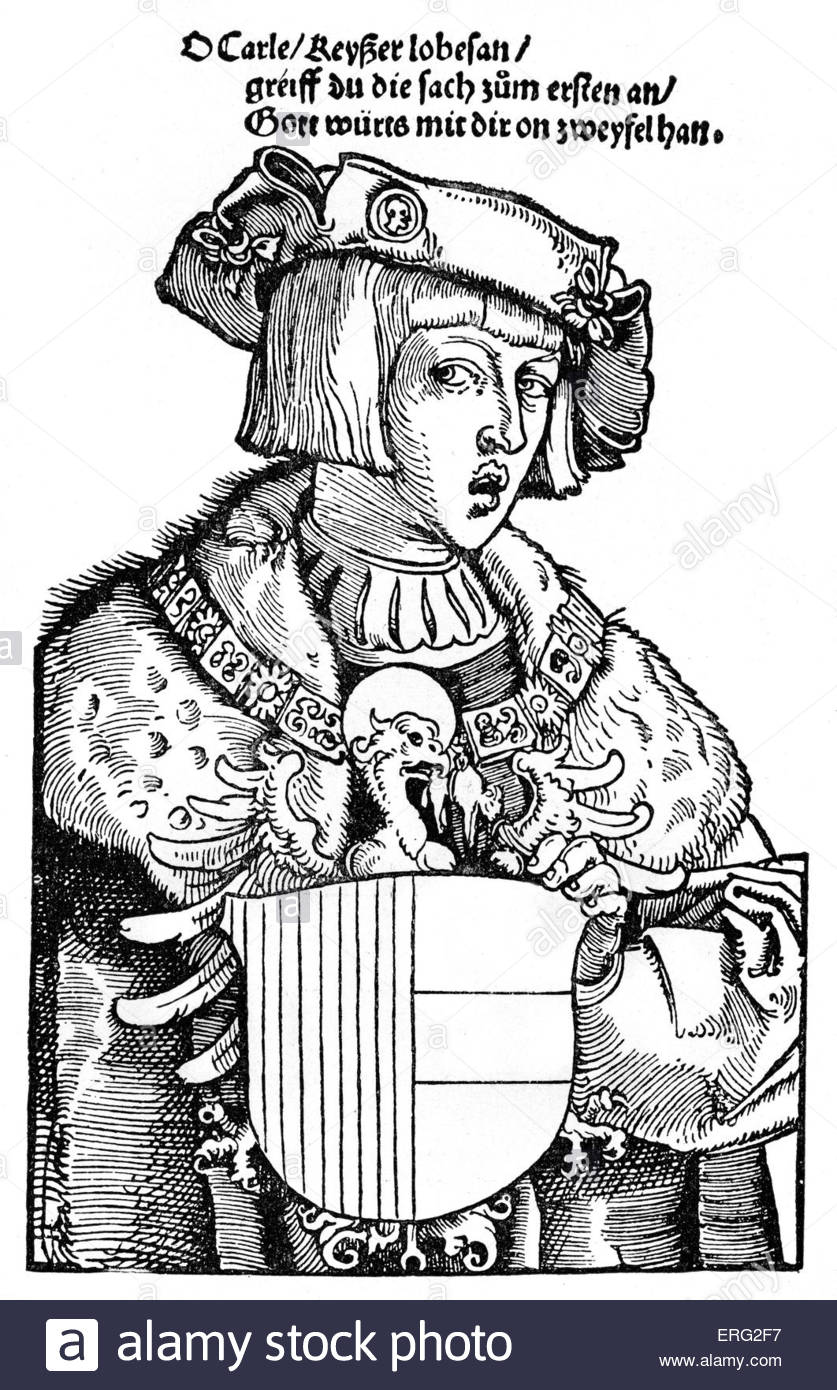 Charles V As A Youth. Charles V Holy Roman Emperor 24 February.