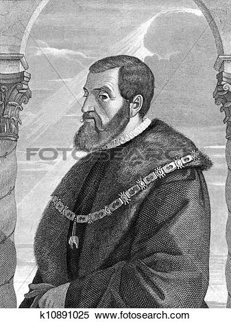 Stock Image of Charles V, Holy Roman Emperor k10891025.