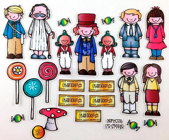 Chocolate Clipart charlie and the chocolate factory 15.