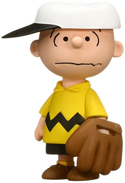 Amazon.com: Medicom Peanuts Series 6: Baseball Charlie Brown UDF.