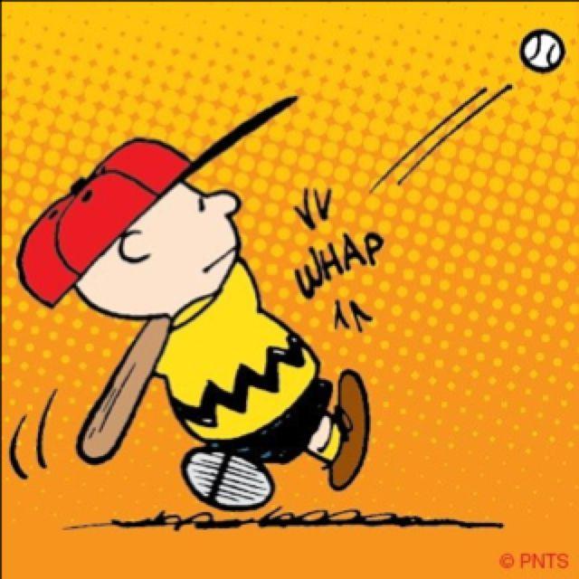 Baseball~CHARLIE BROWN.