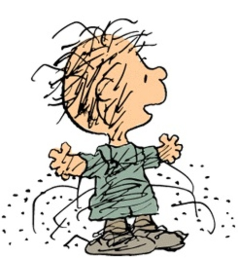 Peanuts Pig Pen Charlie Brown Characters Clipart.