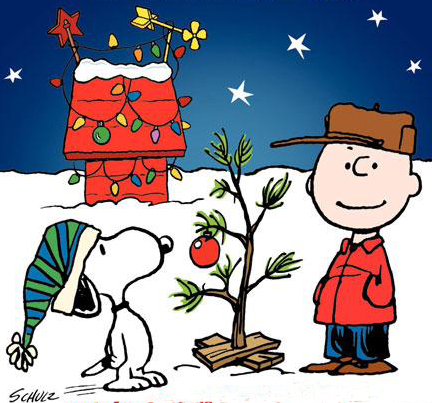 Charlie Brown Christmas Tree Free Clip Art.
