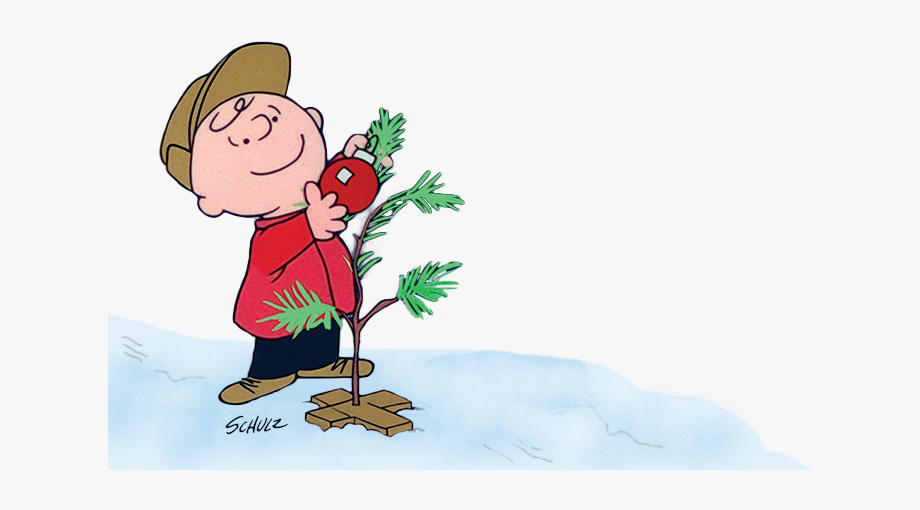 Charlie Brown Christmas Banner Transparent Stock Rr.