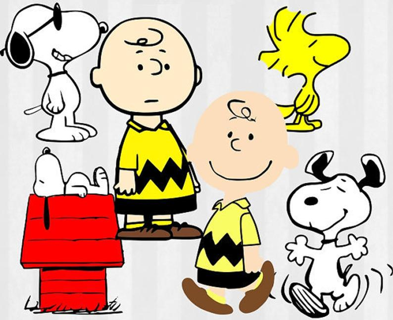 Charlie Brown SVG, Charlie Brown Clip Art, Peanuts Digital Download for  Silhouette Cameo or Cricut, Snoopy SVG, vector, clipart, svg files.