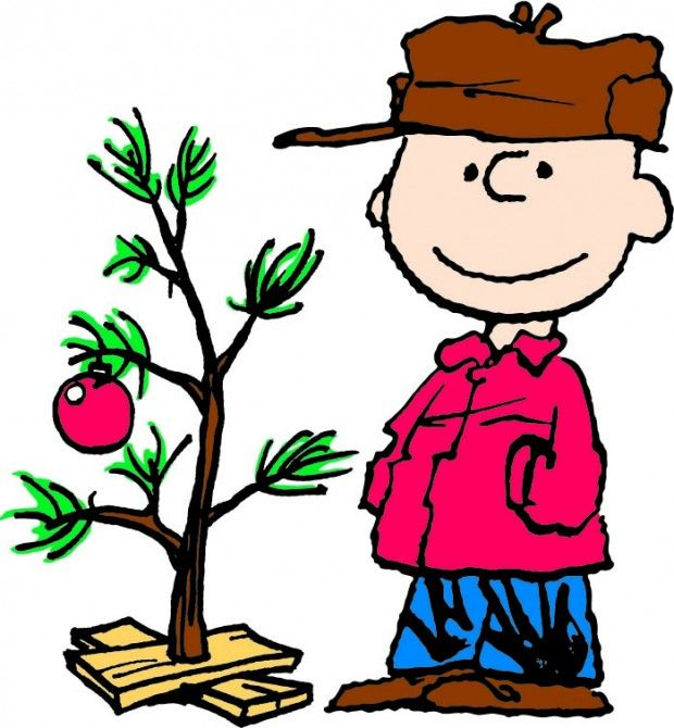 charlie brown christmas, I watch this every year! Now Carter.