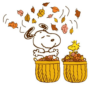 Charlie Brown Fall Clipart.