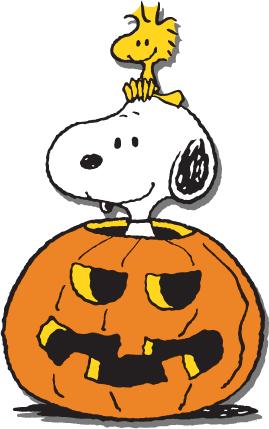 Snoopy and Woodstock Halloween.