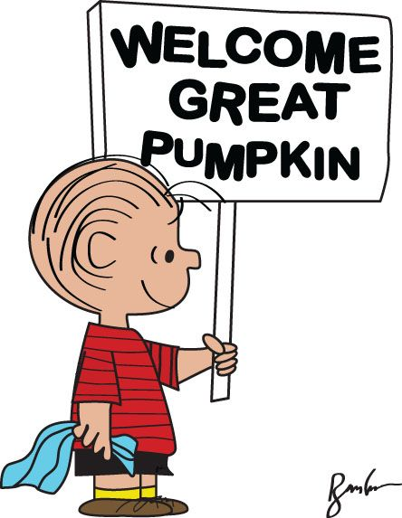 Huge Collection of 'Great pumpkin charlie brown clipart'. Download.