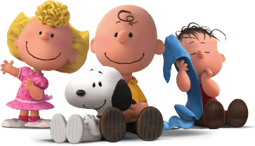 Snoopy Charlie Brown and Friends transparent PNG.