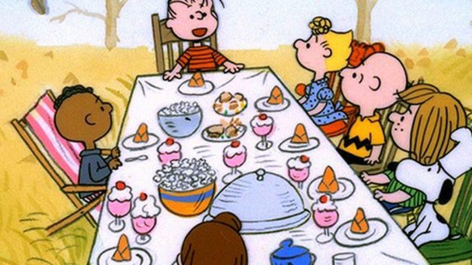 Charlie Brown cartoon labelled racist over depiction of Thanksgiving.