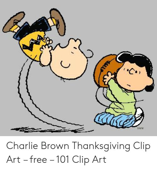 Bww Charlie Brown Thanksgiving Clip Art.