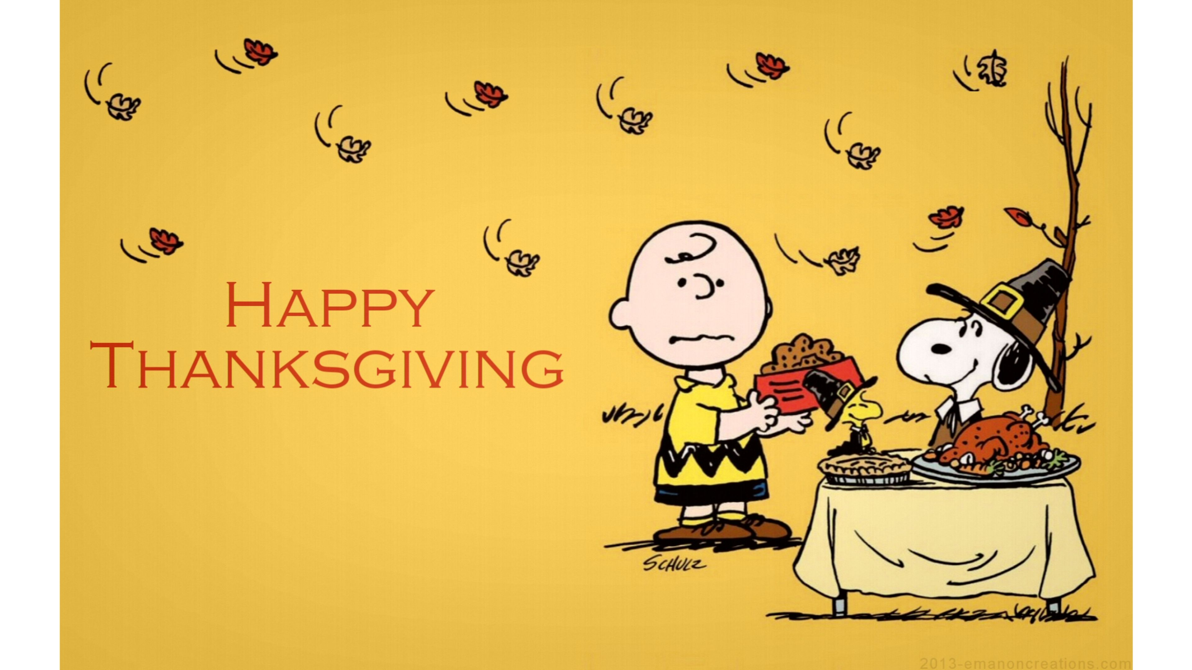 Charlie Brown Thanksgiving Wallpapers.