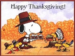 Charlie Brown Thanksgiving Clipart.